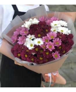 Букет з хризантеми Єва