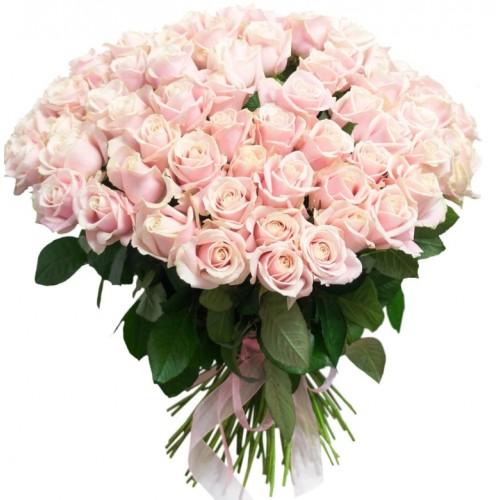 Букет з рожевих троянд Найніжнішій