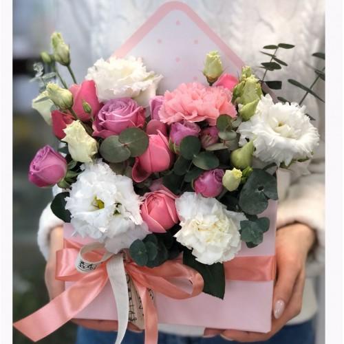 Конверт з кущових троянд Аріана