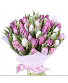Букет з тюльпанів Ти і я