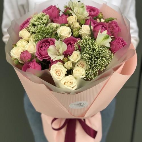 Букет Рожевий флер