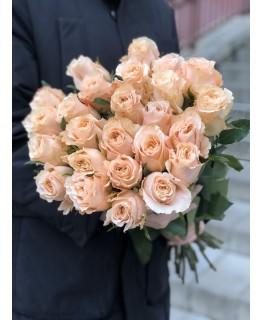 Роза персикова 60 см