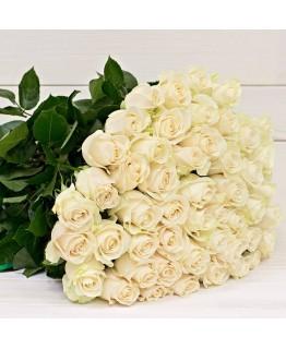 Роза біла 60 см