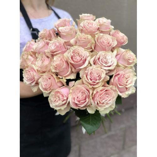 Роза рожева 60 см