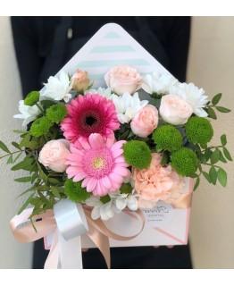 Конверт з квітами Сандра