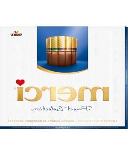 Шоколадні цукерки Merci